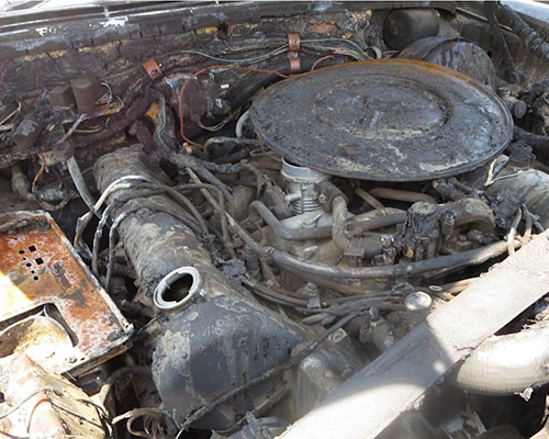 Motor Clásico Mercedes-Benz V8