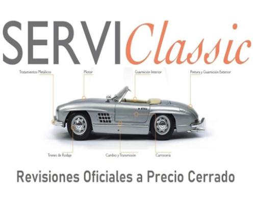 ServiClassic. Revisiones oficiales a precio cerrado